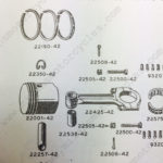 HarleyXA 22009-42 Parts